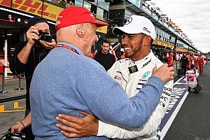 Throwback to 2009: Lauda interviews Hamilton