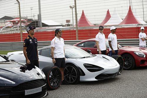 Bahreyn GP: Perşembe günü hazırlık fotoğrafları
