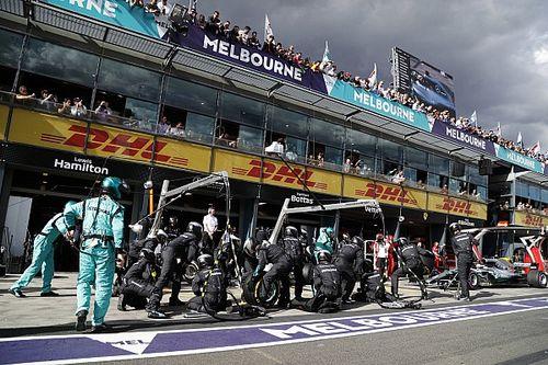 A leggyorsabb kerékcserék Ausztráliából: a Mercedes volt a leglassabb