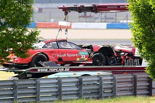 """Spektakulärer DTM-Crash am Lausitzring war für Rene Rast """"gar nicht schlimm"""""""