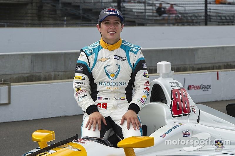 Gabby Chaves no ve posibilidades de seguir con Harding en IndyCar