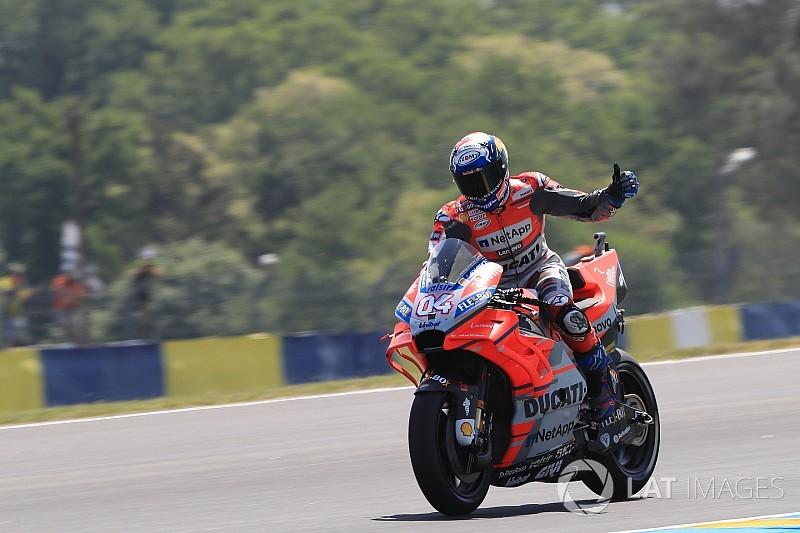 """Dovizioso: """"Después de Rossi, nadie creía ni en Ducati ni en mí"""""""