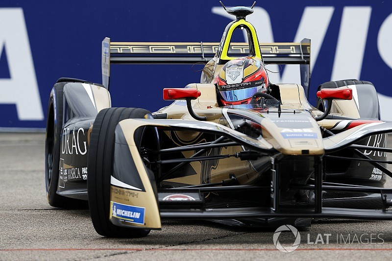 Berlin ePrix: Points leader Vergne tops practice