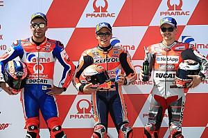 MotoGP Qualifying report Sachsenring MotoGP: Marquez denies Petrucci pole by 0.025s