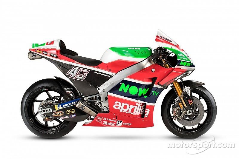 Aprilia zeigt die Farben für die MotoGP-Saison 2018