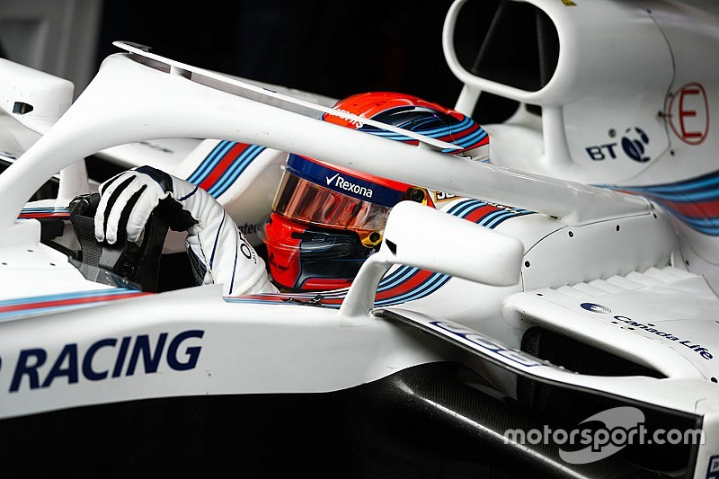 Kubica driving 70% left-handed after injury