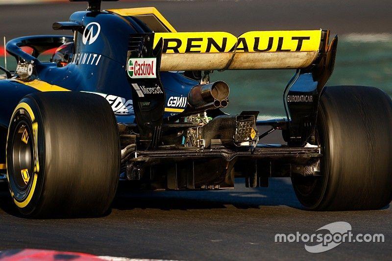"""Renault no está """"preocupado"""" por la legalidad de su alerón"""