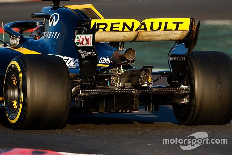 """Renault no está """"preocupado"""" por la legalidad de su alerón trasero"""