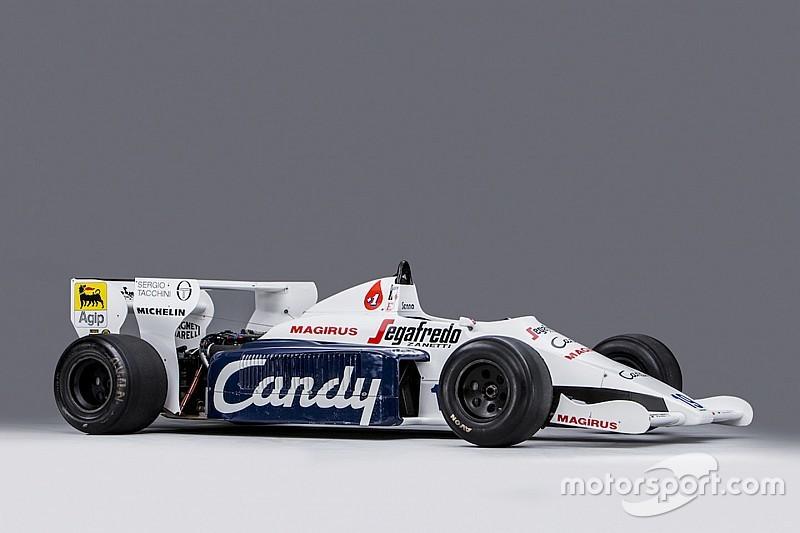 Senna'nın Toleman'ı açık artırmada