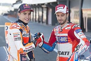 Marquez akui belajar banyak dari Dovizioso