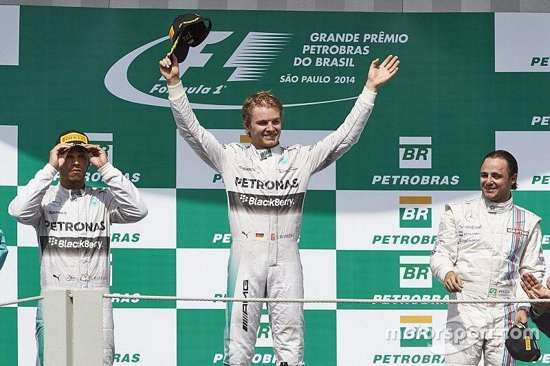 Rosberg elismeri, valószínűleg nem rendelkezett azzal a tehetséggel, mint Hamilton