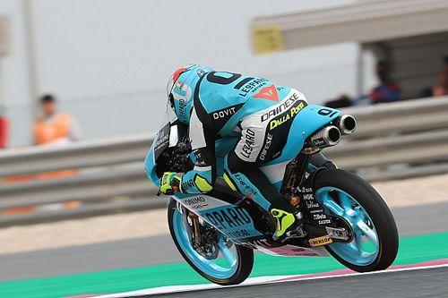 Moto3 Qatar: Dalla Porta topt warm-up, crash voor favoriet Martin
