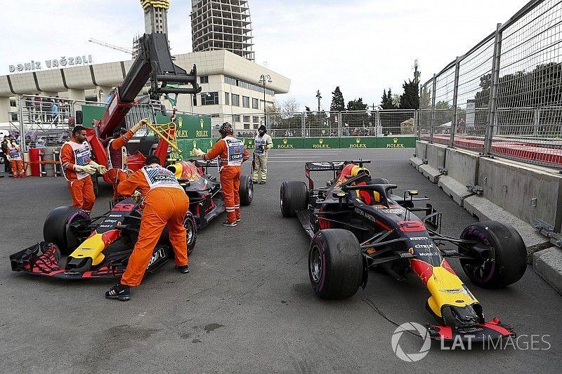 ريد بُل ناقشت خطر إمكانيّة وقوع حادث بين سائقيها قبل السباق