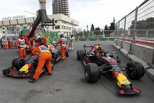 """Horner over Baku-drama: """"Hadden het hier op zondagochtend nog over"""""""