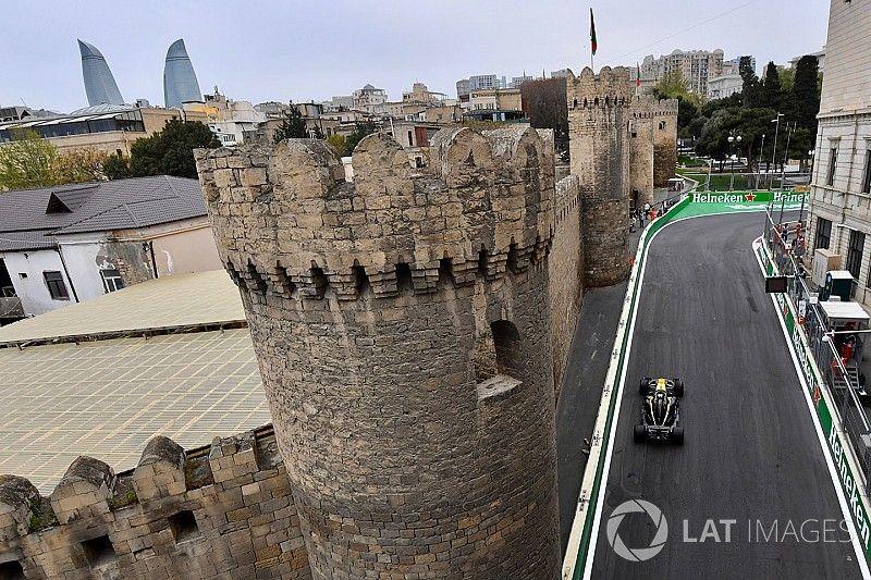 Las mejores fotos del sábado de F1 en Bakú