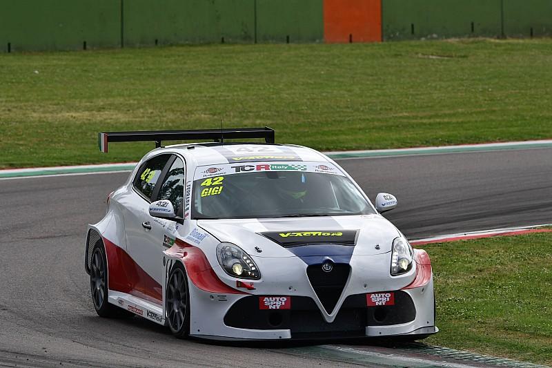 Luigi Ferrara e l'Alfa Romeo dominano Gara 1 a Misano
