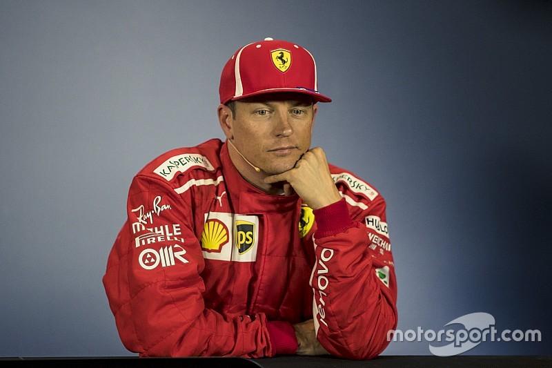 """Räikkönen : """"Je mérite"""" les 10 secondes de pénalité"""