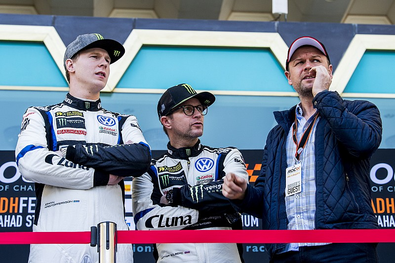 Solberg, Kristoffersson deny conflict rumours amid recent crashes