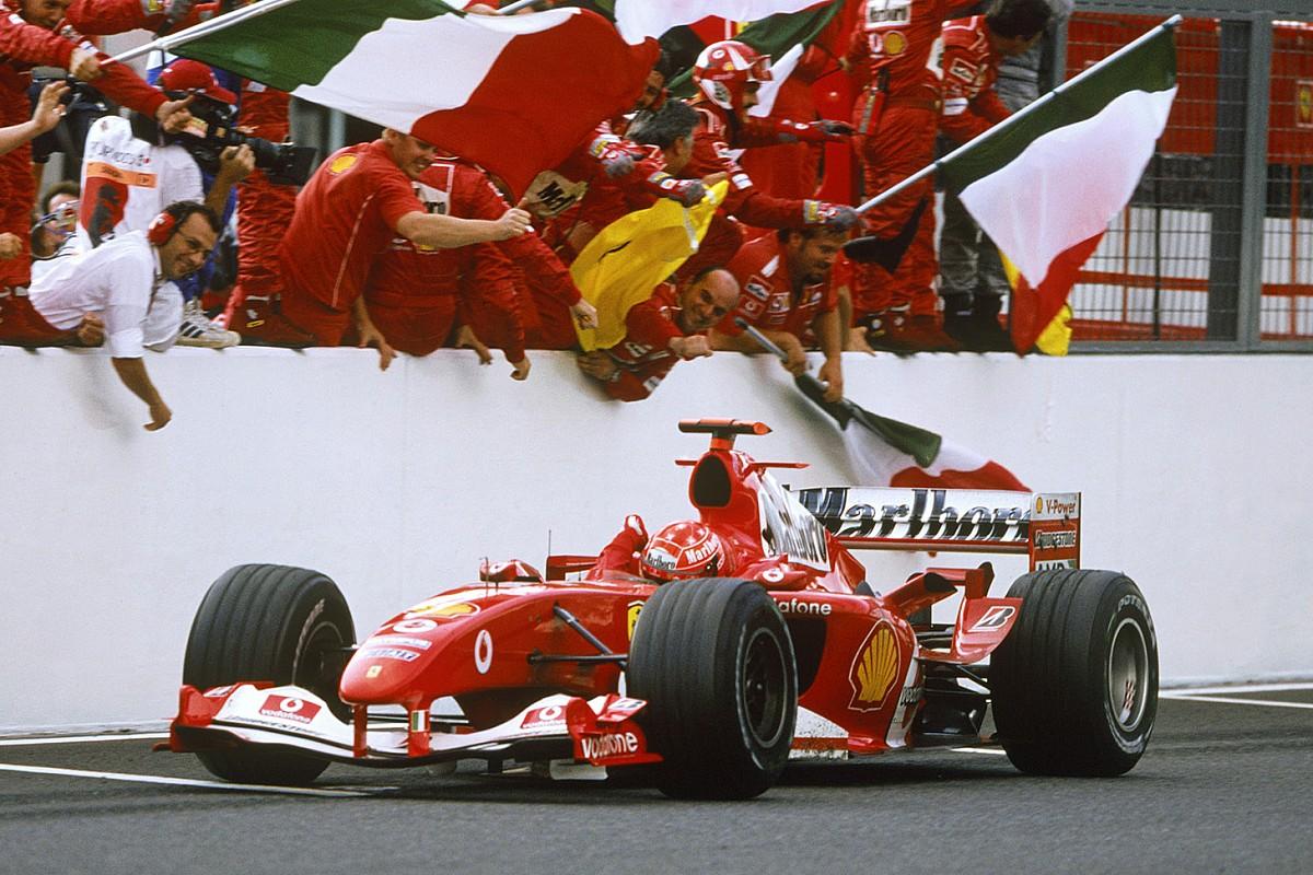 """Mick Schumacher veut """"raviver les bons souvenirs"""" de la Ferrari F2004"""