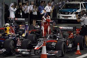 """Alonso: """"En 2010 y 2012 éramos campeones a 10 vueltas del final"""""""