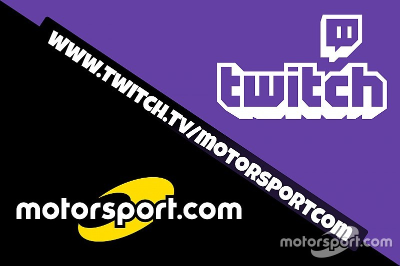 Motorsport.com Türkiye'nin Twitch kanalı artık yayında!