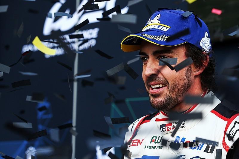 Képekben a nagy ünneplés: Alonso újra nyert