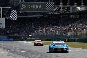 DTM Race report Hockenheim DTM: Paffett resists Auer's challenge for win