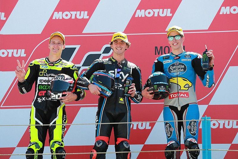 Bagnaia se reencuentra con la victoria en Moto2