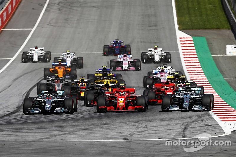 GALERIA: As imagens do fim de semana na F1 e MotoGP
