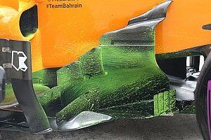 McLaren: la MCL33 sulla pista del Red Bull Ring come se fosse in galleria del vento