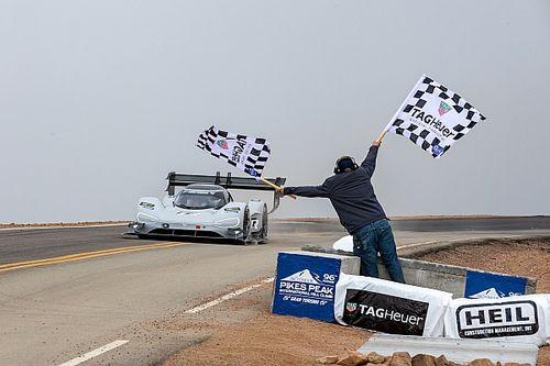 Volkswagen: Gesamtsieg am Pikes Peak war erst 2019 das Ziel