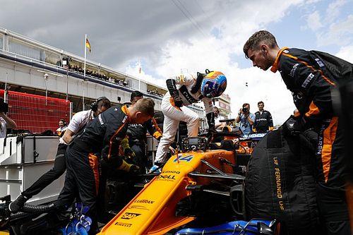 ألونسو اعتقد بأنه لن يُحرز النقاط في سباق إسبانيا