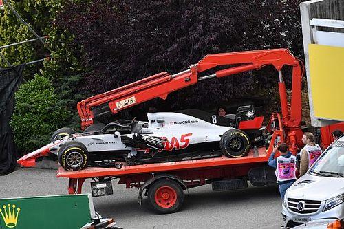Grosjean perde três posições no grid em Mônaco após acidente