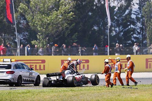 """Grosjean: """"Se tivesse freado, teria acontecido a mesma coisa"""""""