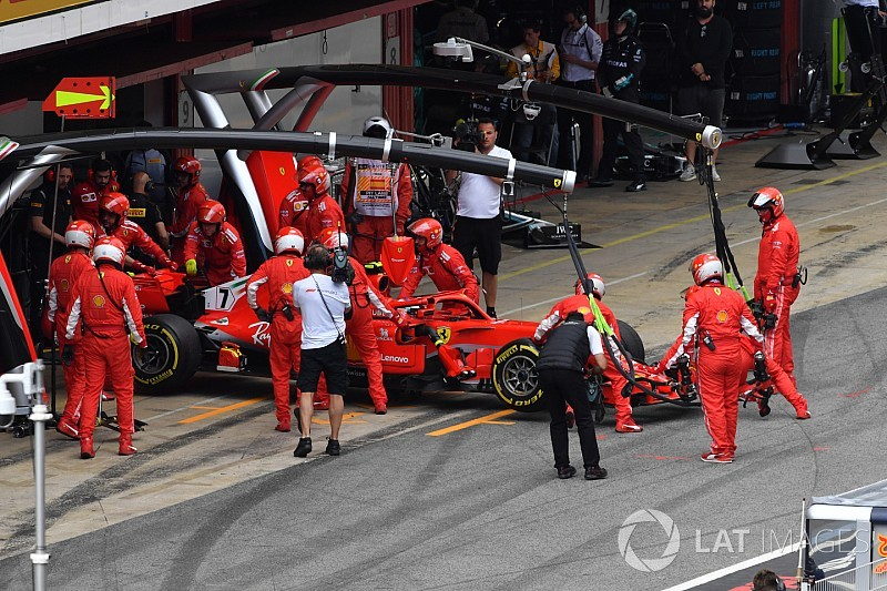 Raikkonen engine failure unlikely to prompt another change