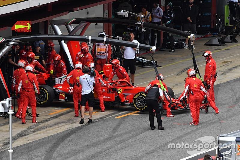 Nach Spanien-Ausfall: Räikkönen-Motor wohl noch zu retten