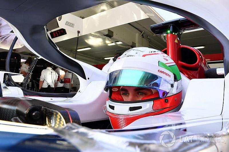 Test Barcellona: esordio per Giovinazzi sull'Alfa Romeo Sauber C37