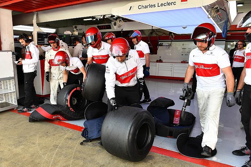 A 18 colos F1-gumik jót tesznek az aerodinamikának