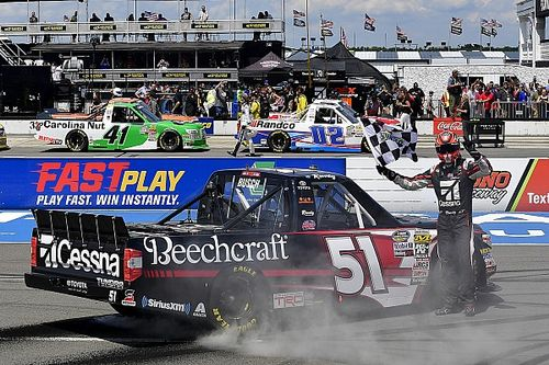 Kyle Busch ties NASCAR Truck record with Pocono win