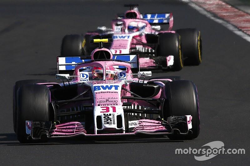 Force India güncellemeleri yeni alıcıya bağlı