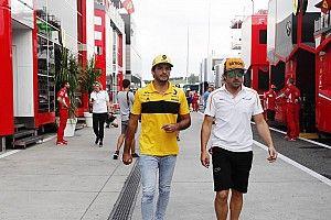 """De la Rosa prefiere """"que sufra otro"""", no Sainz, ser compañero de Alonso"""