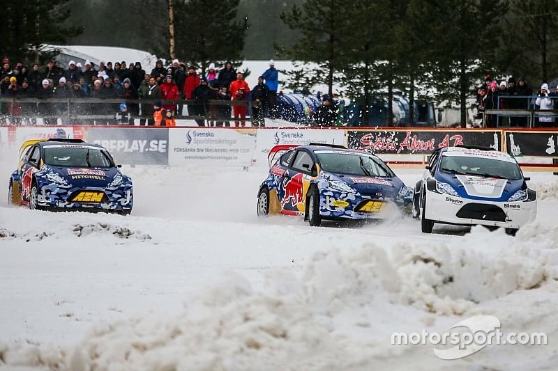 Гонщики IndyCar выступят в ралли-кроссе на льду