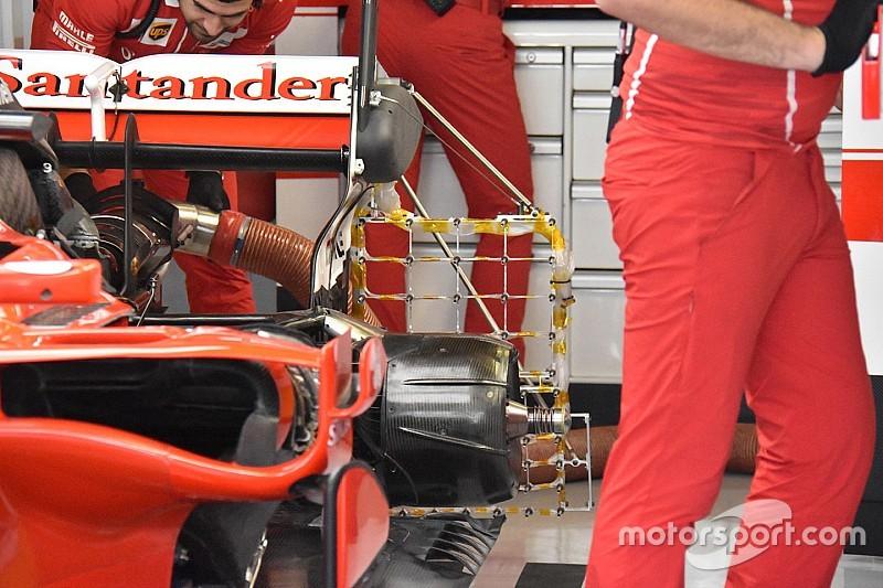 Ferrari copia la idea de difusor trasero de Red Bull en Abu Dhabi
