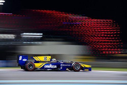 F2 Abu Dhabi: Rowland wint, De Vries loopt podium mis