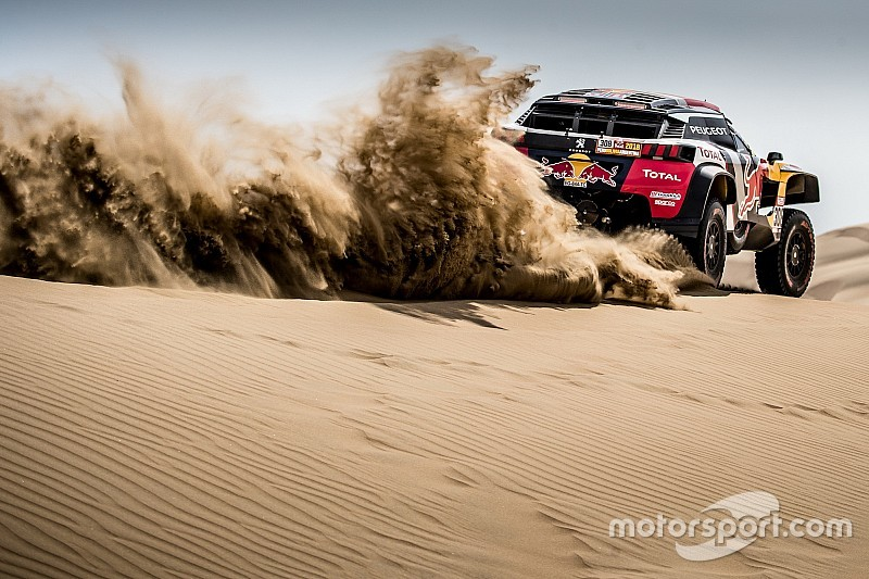 Dakar Rally 2018 Peugeot Regains Its Courage On The Second Day Tech2