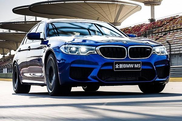 BMW M5 побив рекорд траси в Шанхаї