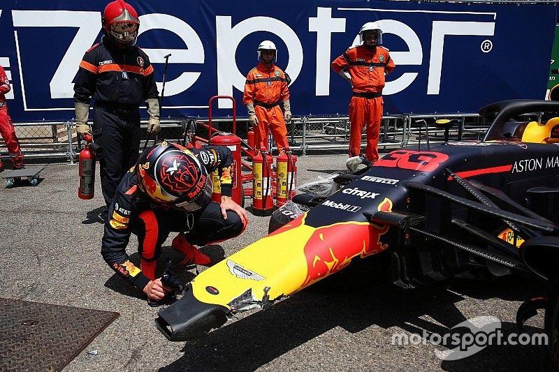 Verstappen admitió que estaba sobremanejando a inicios de 2018