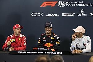 Ricciardo se pensait en très bonne position pour Ferrari ou Mercedes
