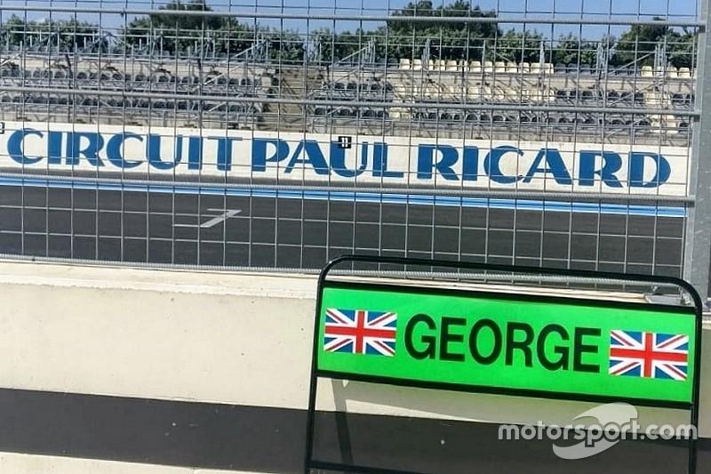 Test Pirelli: la Mercedes prova le gomme wet al Paul Ricard con Russell