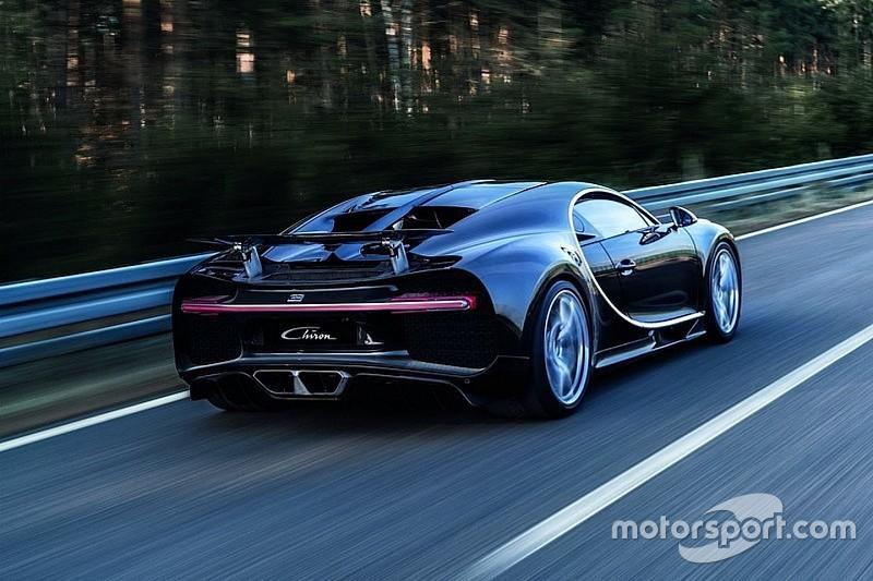Bugatti Chiron blijkt sneller dan LMP1-bolide van Audi